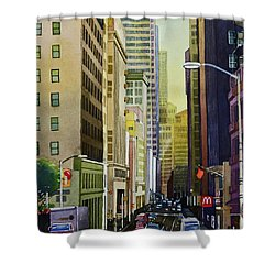 Lower Pine Street Shower Curtain