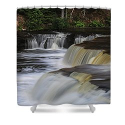 Lower Tahquamenon Summer Shower Curtain