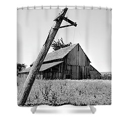 Lowering The Bar In Black And White Shower Curtain