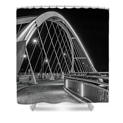 Lowry Avenue Bridge Shower Curtain