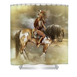 Lozen Shower Curtain by Shanina Conway