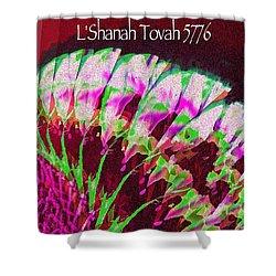 L'shanah Tovah Shower Curtain