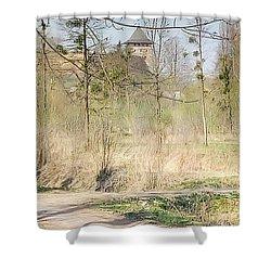 Lubart Castle Shower Curtain