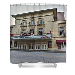 Lucas Theatre Savannah Ga Shower Curtain