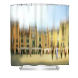 Lucca Ampitheatre Impression 1 Shower Curtain by Marty Garland