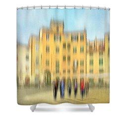 Lucca Ampitheatre Impression 2 Shower Curtain