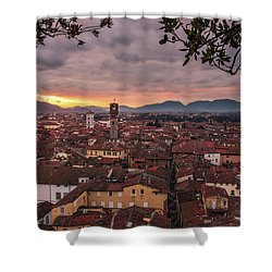 Lucca In Tuscany Shower Curtain