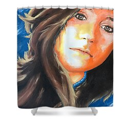 Lucia Shower Curtain by Victor Minca