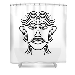 Luciano Shower Curtain