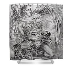 Lucifer Bound Shower Curtain