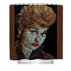 Lucille Ball  Shower Curtain