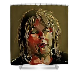 Lucinda Williams  Shower Curtain