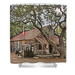 Luckenbach Post Office And General Store_1 Shower Curtain