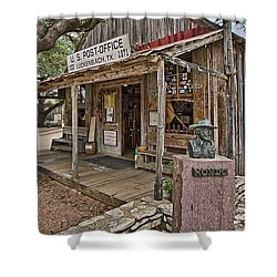 Luckenbach Post Office And General Store_2 Shower Curtain