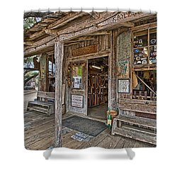 Luckenbach Post Office And General Store_4 Shower Curtain