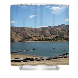 Lucky Peak, Idaho Shower Curtain