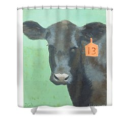 Lucky Shower Curtain