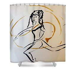 Lucky Spell Shower Curtain by Judith Desrosiers