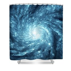 Lucy Galaxy Shower Curtain