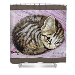 Lucy Girl Shower Curtain