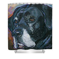Lucy Shower Curtain by Nadi Spencer