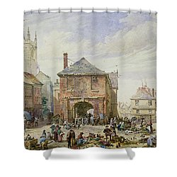 Ludlow Shower Curtain by Louise J Rayner