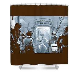 Luke In Bacta Shower Curtain