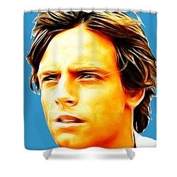 Luke Shower Curtain by Paul Van Scott