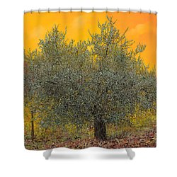 L'ulivo Tra Le Vigne Shower Curtain