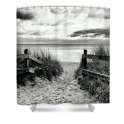 Lull Shower Curtain by Karen Stahlros