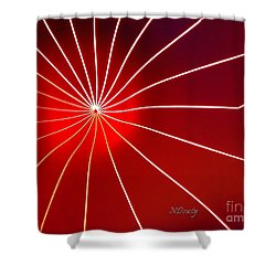Luminarium Shower Curtain