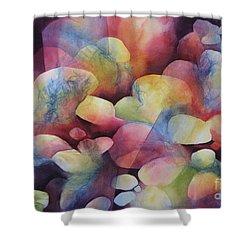 Luminosity Shower Curtain by Deborah Ronglien