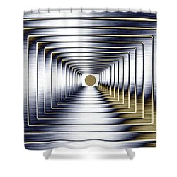 Luminous Energy 1 Shower Curtain by Will Borden