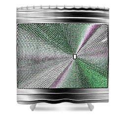 Luminous Energy 13 Shower Curtain by Will Borden