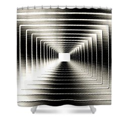 Luminous Energy 3 Shower Curtain by Will Borden