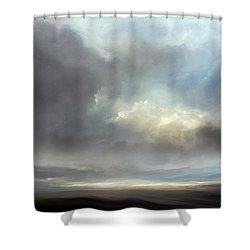 Luminous Landscape Shower Curtain