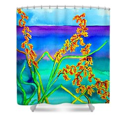 Luminous Oats Shower Curtain by Lil Taylor