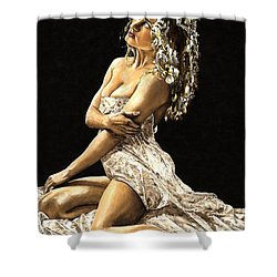 Luminous Shower Curtain by Richard Young