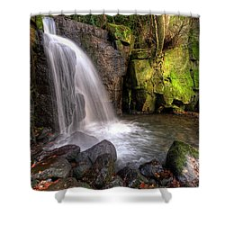 Shower Curtain featuring the photograph Lumsdale Falls 3.0 by Yhun Suarez