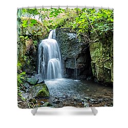 Lumsdale Falls Shower Curtain