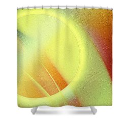 Luna Creciente Shower Curtain