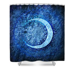 Luna Shower Curtain by Kenneth Armand Johnson