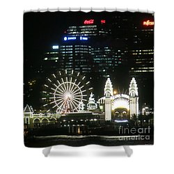 Luna Park Shower Curtain