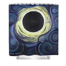 Luna Synchronicity Shower Curtain