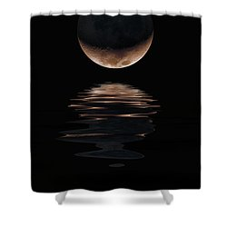 Lunar Dance Shower Curtain by Jerry McElroy