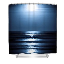 Lunar Dreams Shower Curtain