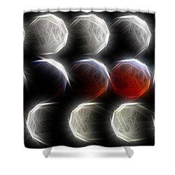Lunar Eclipse Progression Shower Curtain