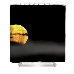 Lunar Mist Shower Curtain