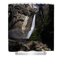 Lunar Rainbow Shower Curtain