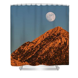 Lunar Sunset Shower Curtain